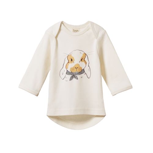 Nature Baby Simple Tee (barnaby bunny)