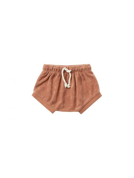 Quincy Mae Terry Shorts (terracotta)