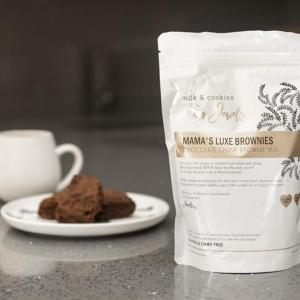 Milk and Cookies By Jewels Chocolate Chunk Brownie Mix