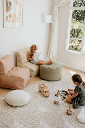 Henlee Beanbag Lounger for Kids (posie) **PRE ORDER