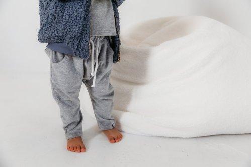 Bobby G Harem Pants (heather grey)