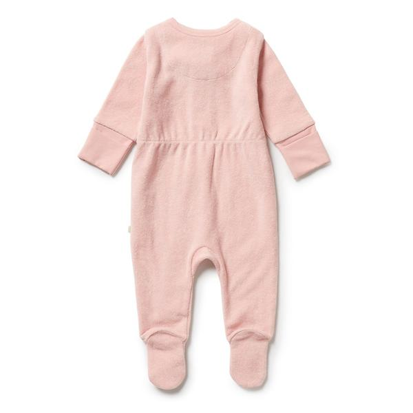 Wilson and Frenchy Organic Terry Zipsuit (cantalope)