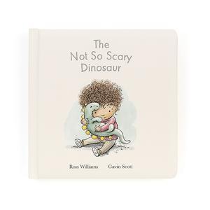 "Jelly Cat ""The Not So Scary Dinosaur"" Book (douglas the dinosaur)"