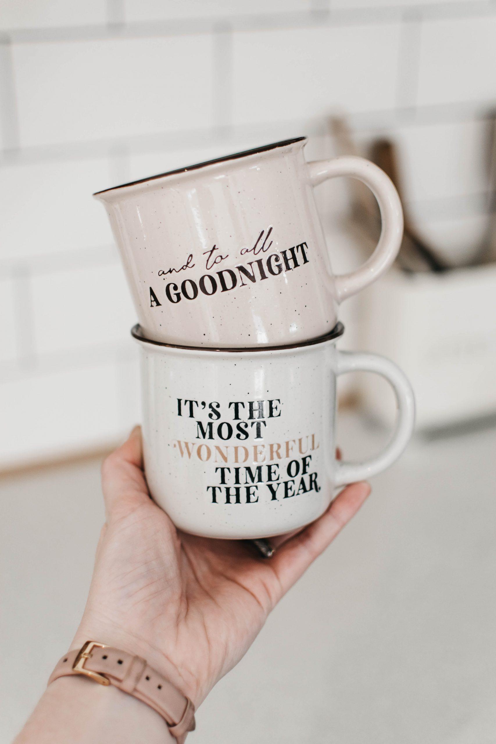"Bencer and Hazelnut ""To All A Goodnight"" Mug **PRE ORDER"""