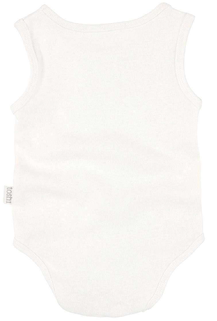 Toshi Dreamtime Singlet Bodysuit (cream)