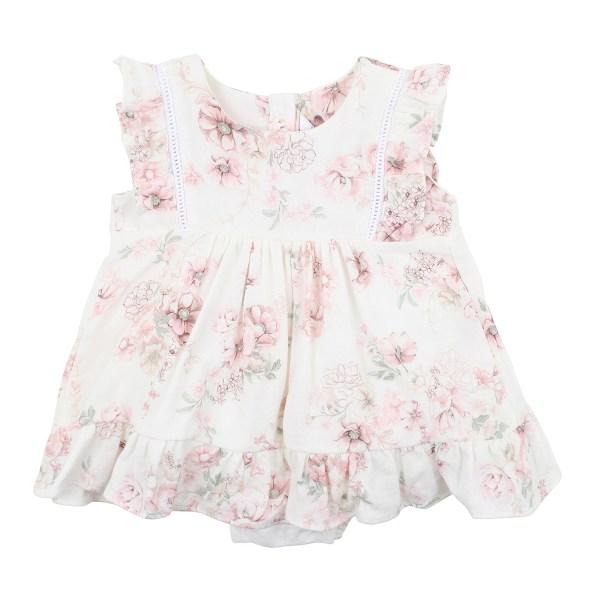 Bebe Amelie Floral Overlay Dress (floral)