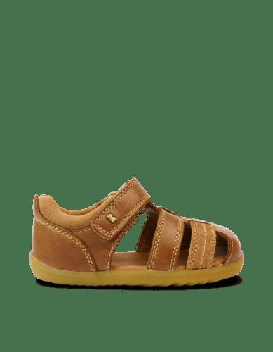 Bobux Step Up Roam Closed Sandal (caramel)