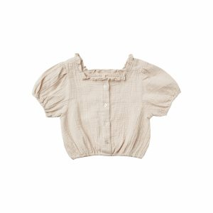 Rylee and Cru Dylan Blouse Embroidered Daisy (stone) **Pre Order
