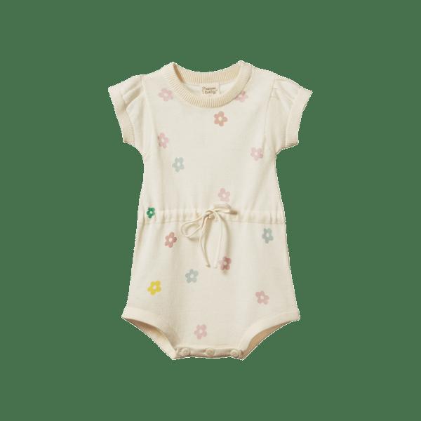 Nature Baby Lottie Suit (large flora print)