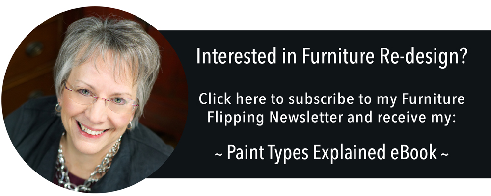 Furniture Flipping Newsletter {ValFrania.com}
