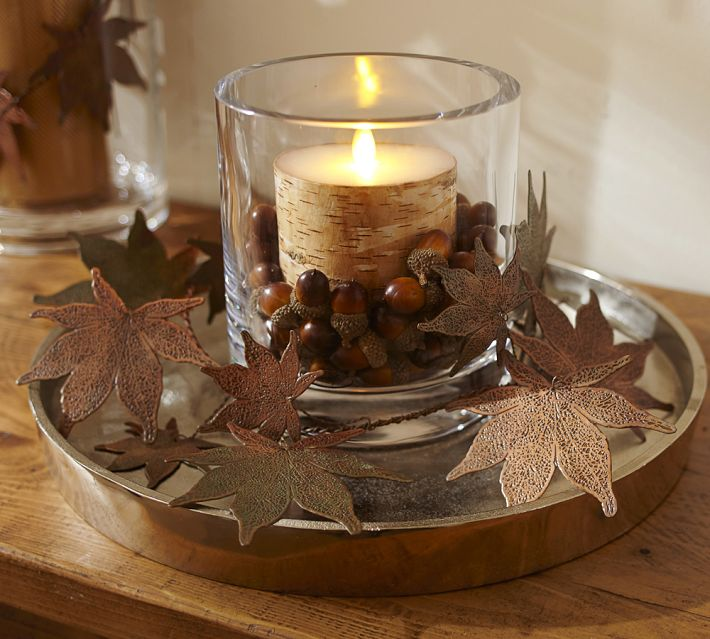 Fall decor lends such a warm and welcoming feeling.   Love My DIY Home