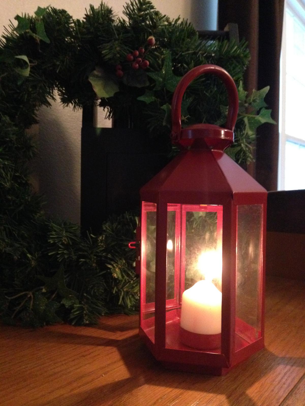 DIY Repainted Fall Lantern {Love My DIY Home}