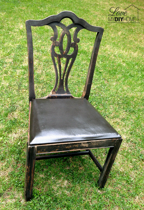 Antique chair redo {Love My DIY Home}