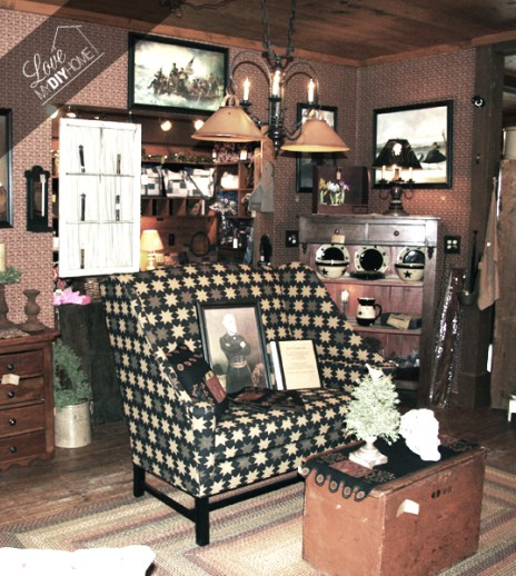 The Thirteenth Colony Antique Store   Love My DIY Home