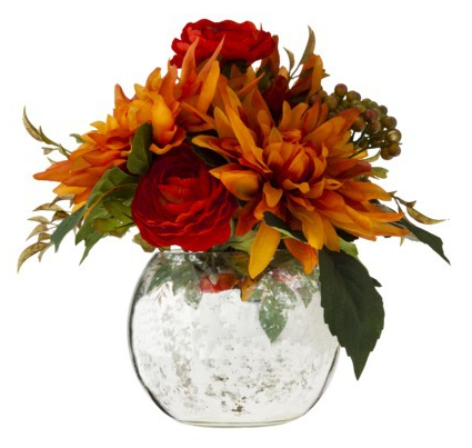 Target floral arrangement