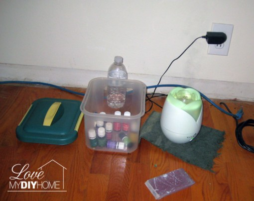 Diffusing Young Living Essential Oils {LMDH}