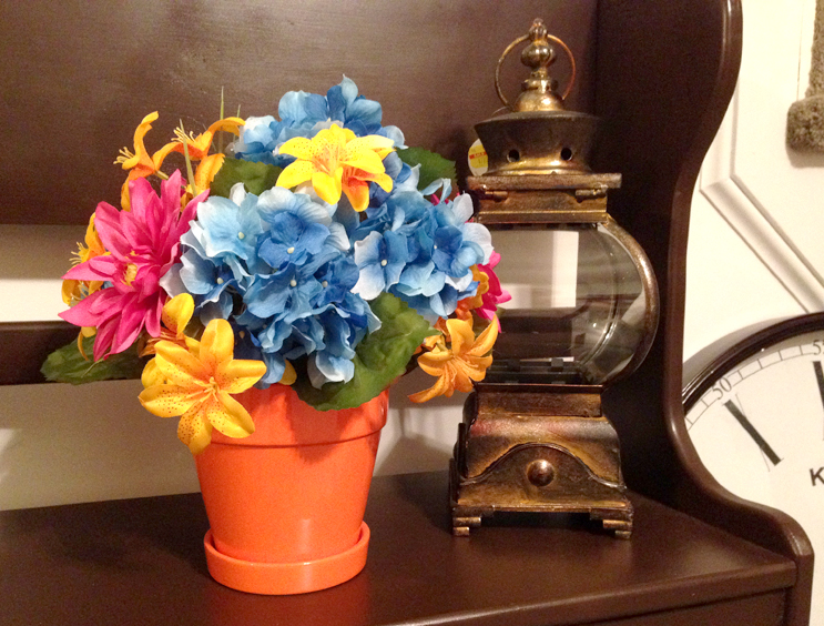 Summer Floral Arrangement {Love My DIY Home)