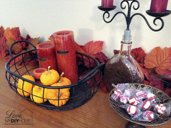 Fall Tablescape Series {Love My DIY Home}