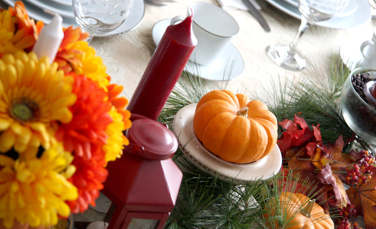 Fall Tablescape {Love My DIY Home}