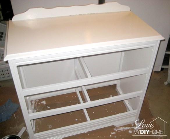 Dresser Turned TV Stand {Love My DIY Home}