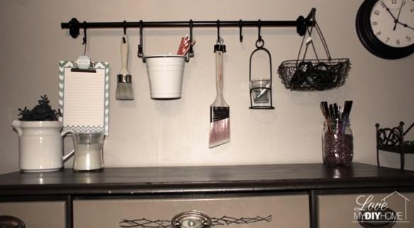 Craft Room Closet Reveal {Love My DIY Home}