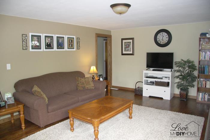 Living Room Reveal {Love My DIY Home}