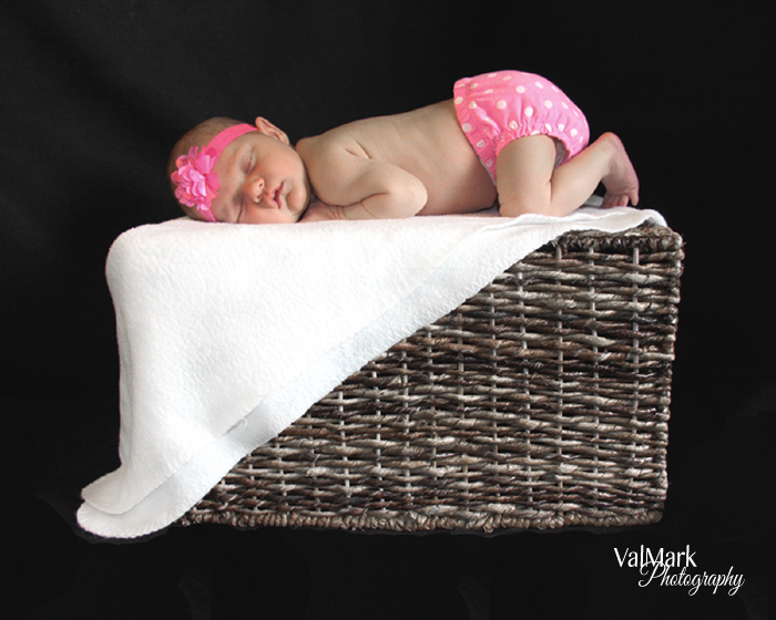 DIY Newborn Photos {Love My DIY Home}
