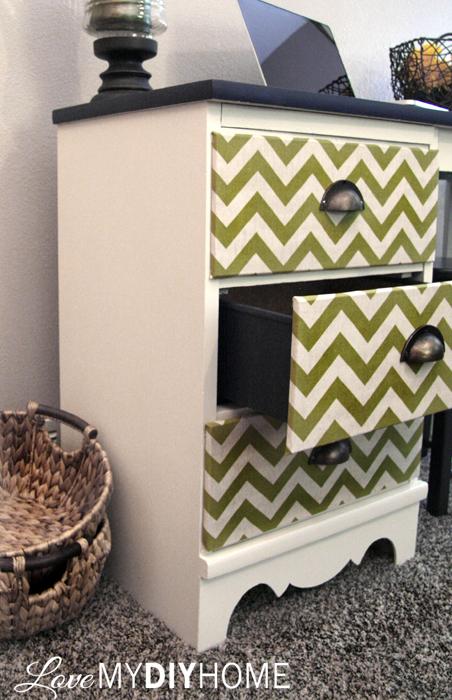Desk Flip {Love My DIY Home} #fabflippers