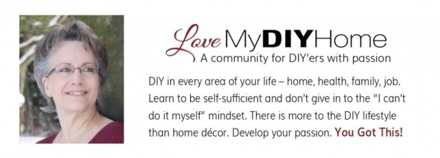 DIY in Every Area of Your Life {Love My DIY Home}