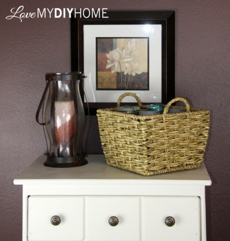An Apothecary Cabinet Flip - A Fresh Start {Love My DIY Home}
