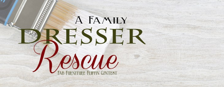 A Family Dresser Rescue – April FFFC