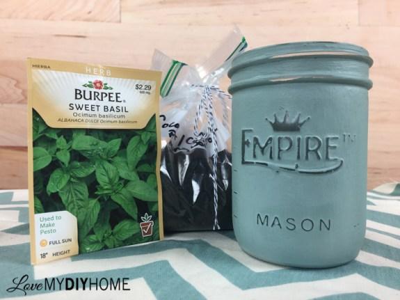 Mason Jar Planter {Love My DIY Home}