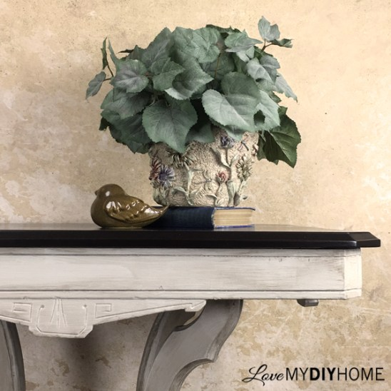 Painted Antique Table {Love My DIY Home}