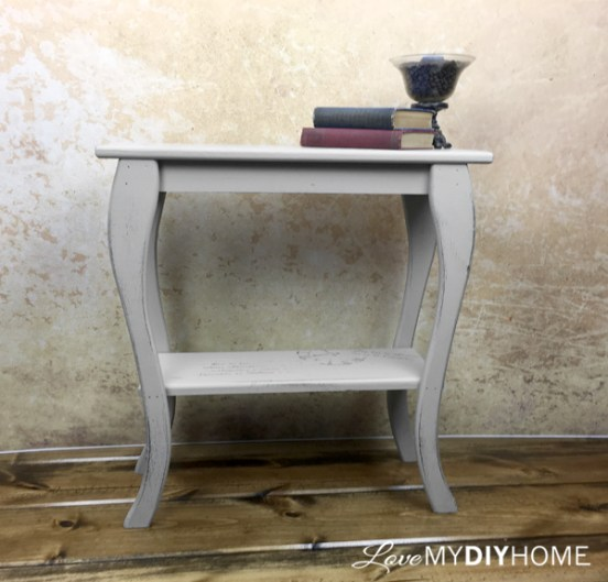The Skinny on a Side Table {Love My DIY Home}