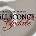 Garage Sale Sconce Update {Love My DIY Home}