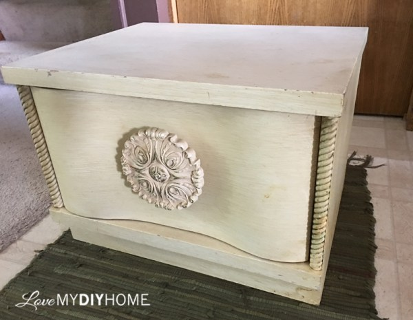 Flower Table Redesigned {Love My DIY Home}