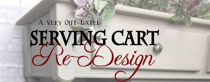 Serving Cart Goes Fresco – A Lime Paint Transformation
