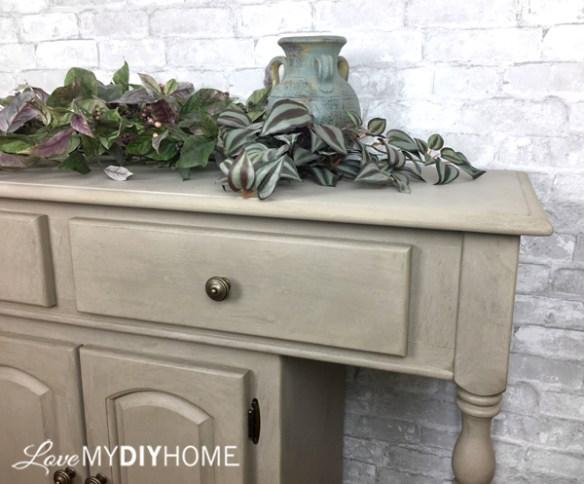 Fresco Lime Paint Transforms Serving Cart {Love My DIY Home}