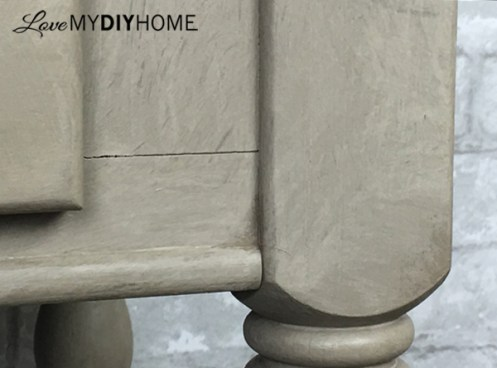 Fresco Lime Paint Transforms Serving Cart {Love My DIY Home}