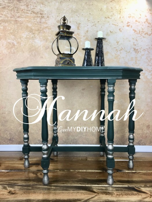 Hannah Parlor Table {Love My DIY Home}
