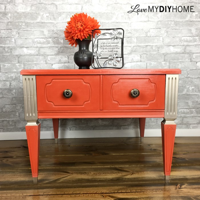 MCM End Table {Love My DIY Home}
