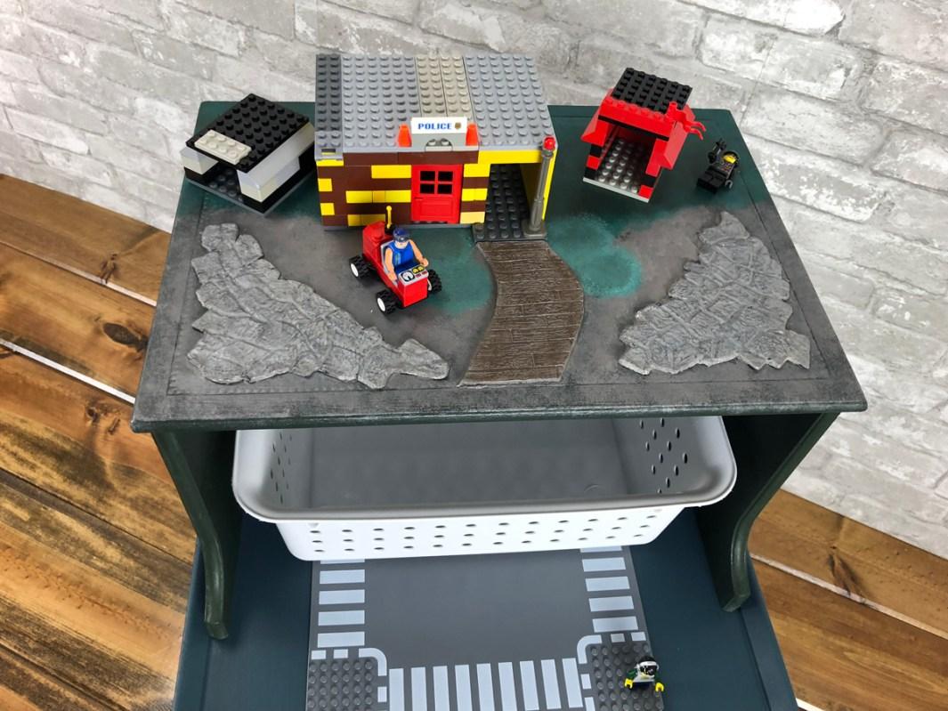 Lego Table basket cu