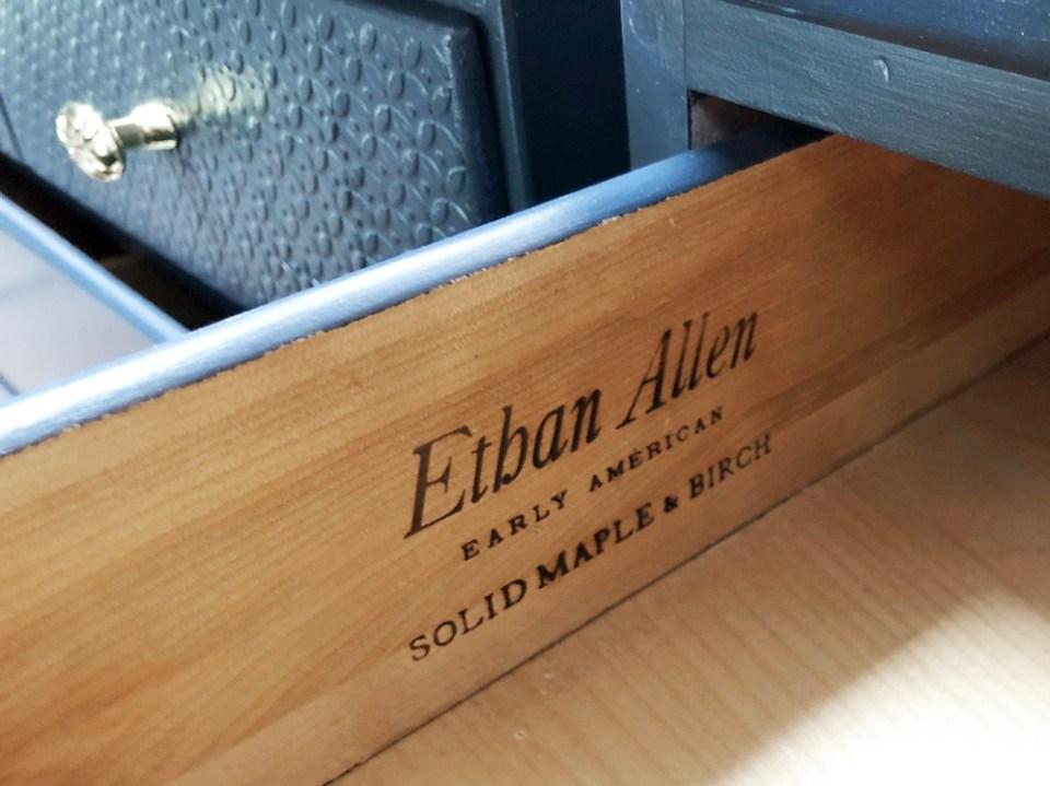 Ethan Allen Stamp