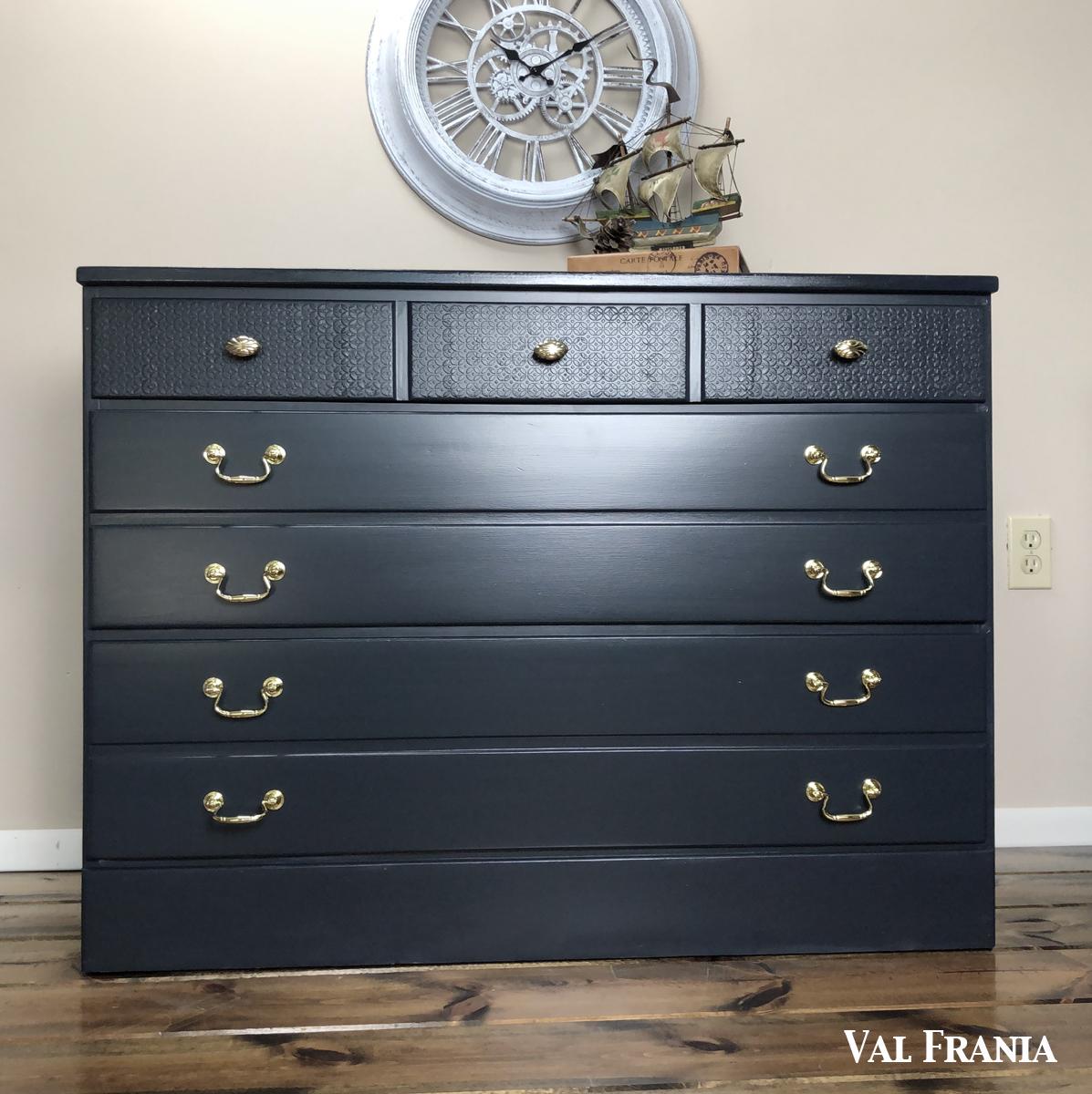 Navt Blue Large Dresser