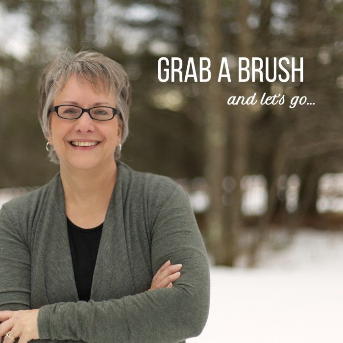 Val Grab a Brush