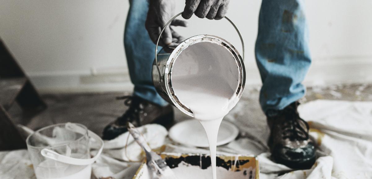 Pouring White Primer