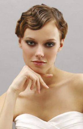 Amazing Marcel Waves Amp Pin Curls Wedding Day Hair Styles Inspired By The Hairstyles For Women Draintrainus
