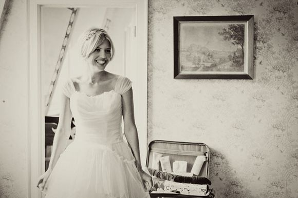 Emma Domb Vintage Wedding Dress Glamour For A London Bride