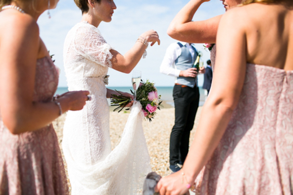 Two Bespoke Wedding Dresses For A Beautiful, Vintage