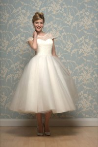 Short, Tea Length and 1950's Inspired Wedding Dresses by ...